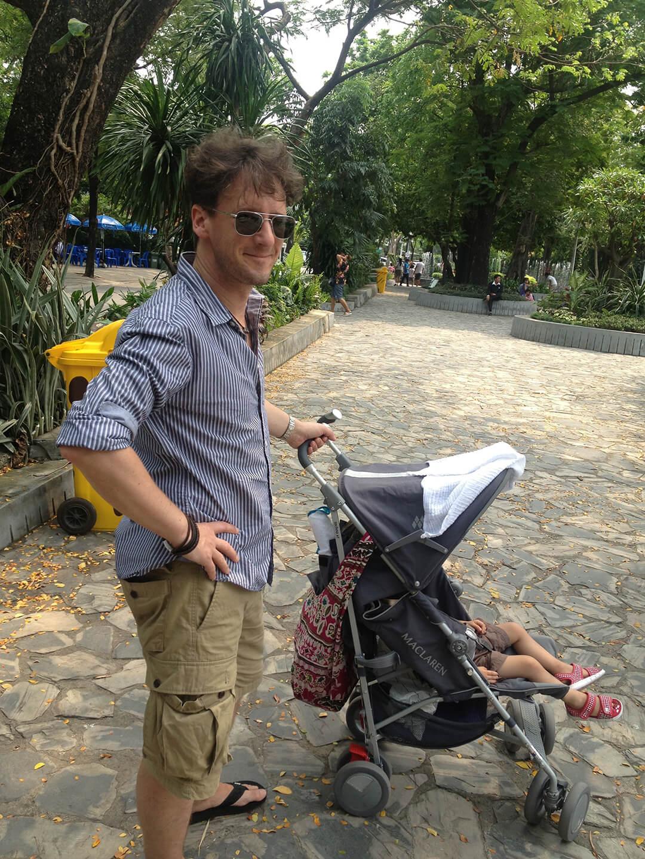 Adoptivkind - Papi und Sohn