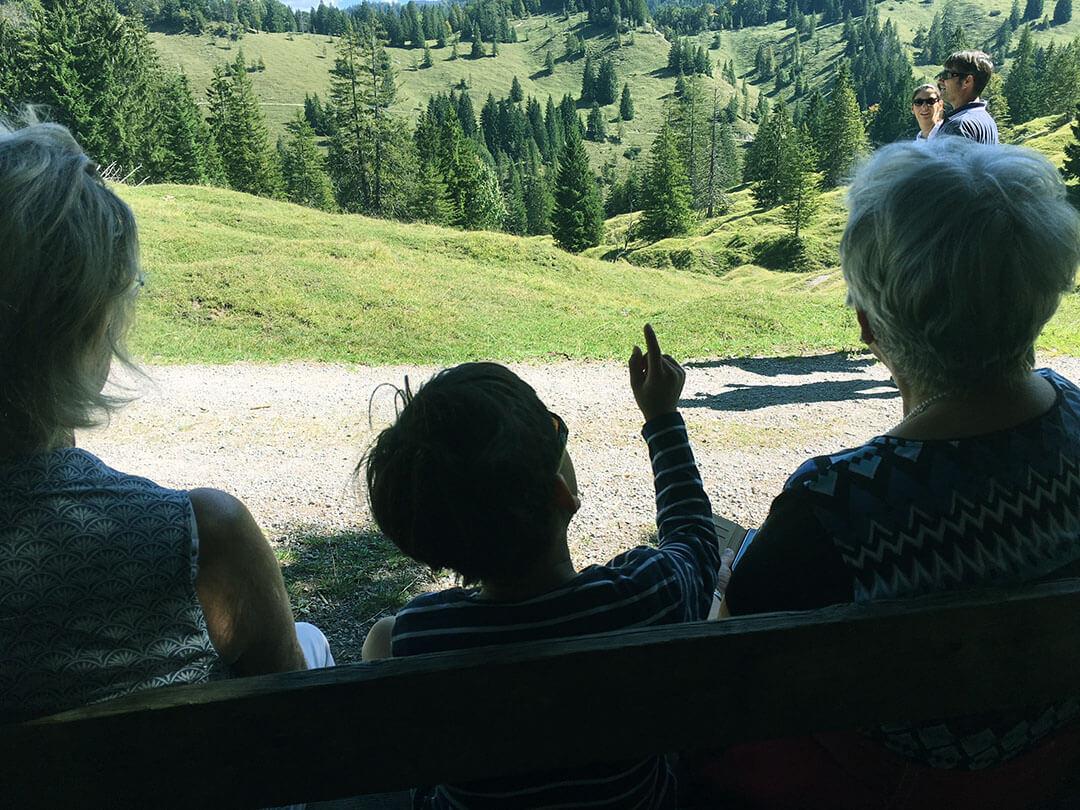 Familienglück -Wanderung