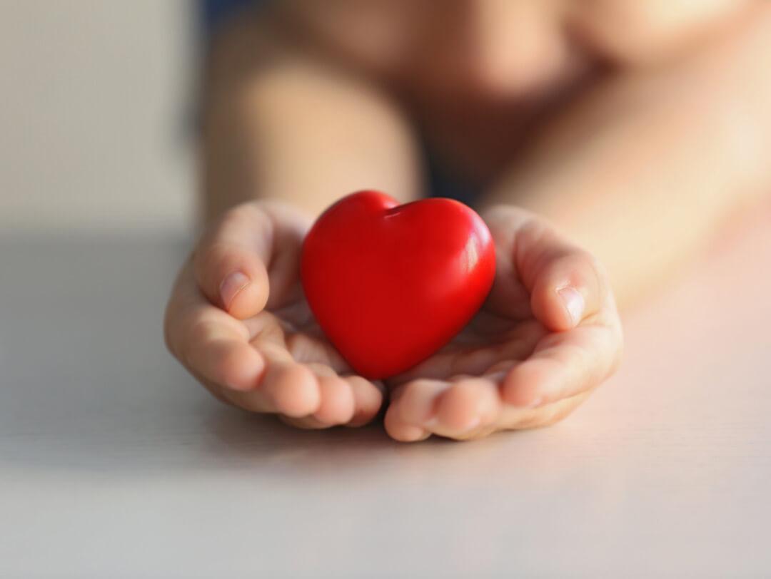 Kinderwunsch - Baby mit Herz
