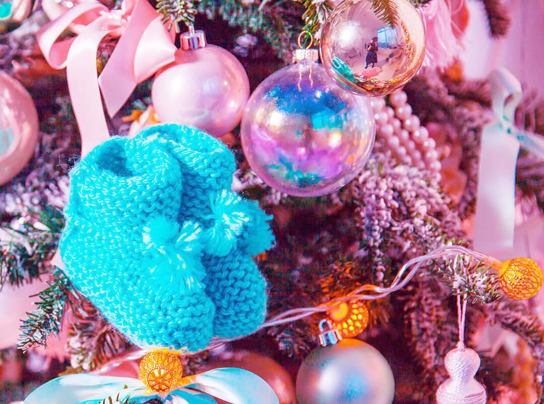 Blastozystentransfer - Weihnachten mit Baby